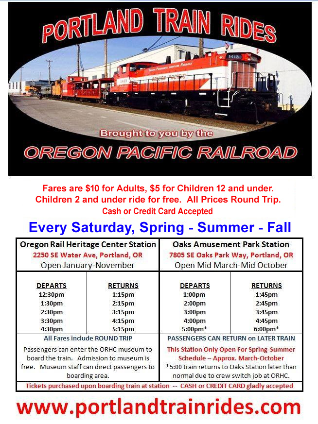 Oregon Pacific Railroad Homepage